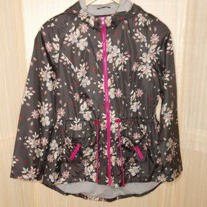 Mossimo Supply Co. Women's  Floral  Anorak Jacket